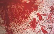 Hermann NITSCH - Peinture - Senza titolo 1987