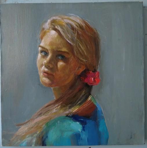 Ohanyan KAMSAR - Peinture - Blonde