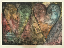 Jim DINE (1935) - Watercolored by Jim
