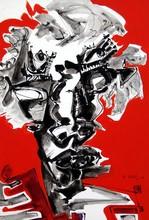 Philippe ARTIAS - Painting - Guerriero