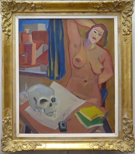 Raymond ESPINASSE - Painting - Nu