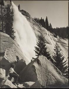 Ansel Easton ADAMS - Fotografia - Nevada Fall II