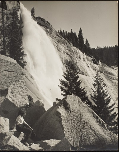 Ansel Easton ADAMS - Photography - Nevada Fall II