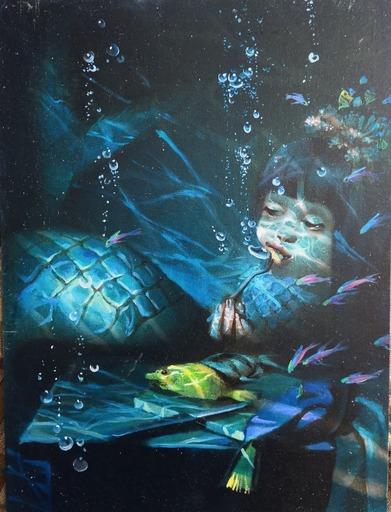 Anna SELINA - Painting - Mermaid
