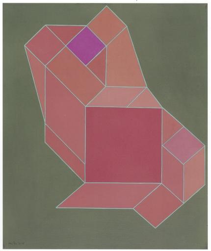 Achille PERILLI - Painting - L'avventura allegra