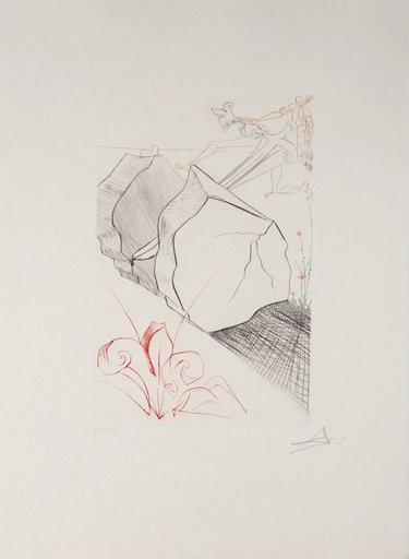Salvador DALI - Print-Multiple - The wonderful step