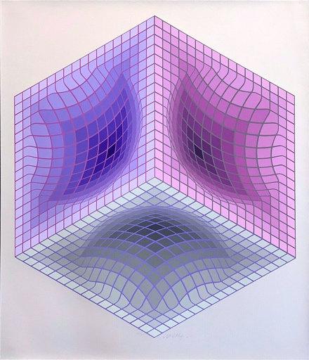 Victor VASARELY - Druckgrafik-Multiple - Tridos S