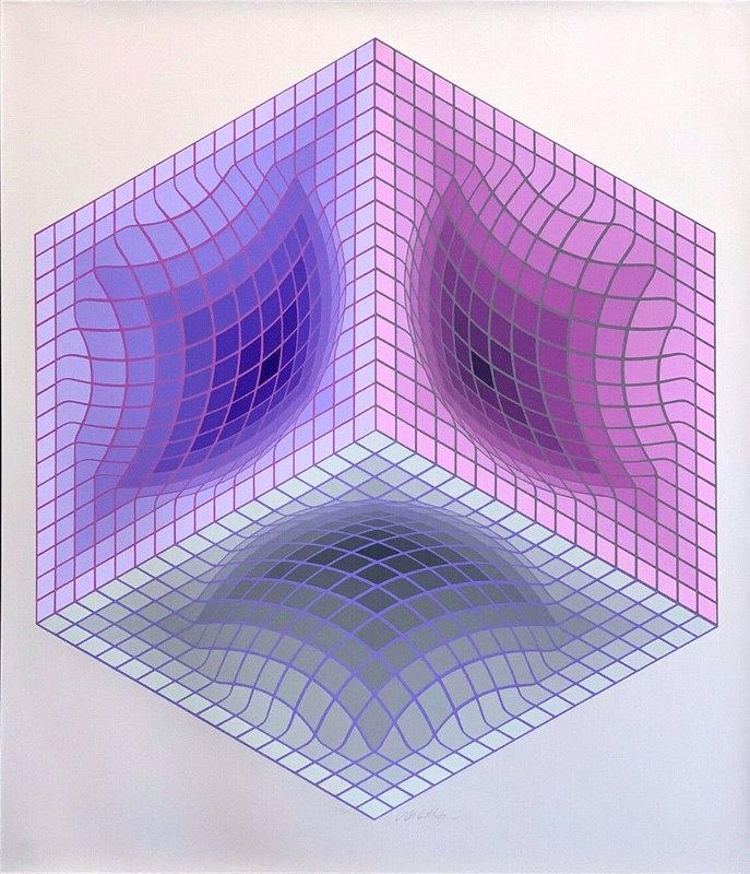 Victor VASARELY - Estampe-Multiple - Tridos S
