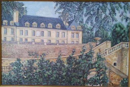 Jean-Claude LELIEVRE - Peinture - le chateau d auvers sur oise 95