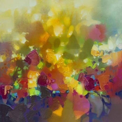 Scott NAISMITH - Painting - Light Permeates