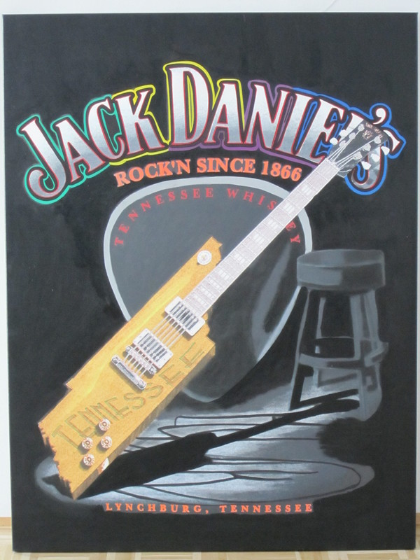 Steve KAUFMAN - Jack Daniels - #1162743 - Kunstmarktplatz - Artprice.com