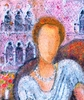 Valerio BETTA - Pintura - Contessa a Venezia- The countess