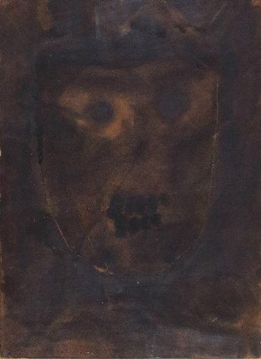 Bruno CECCOBELLI - Painting - L'uomo della luna