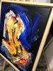 Nicole LEIDENFROST - Gemälde - Nude in blau