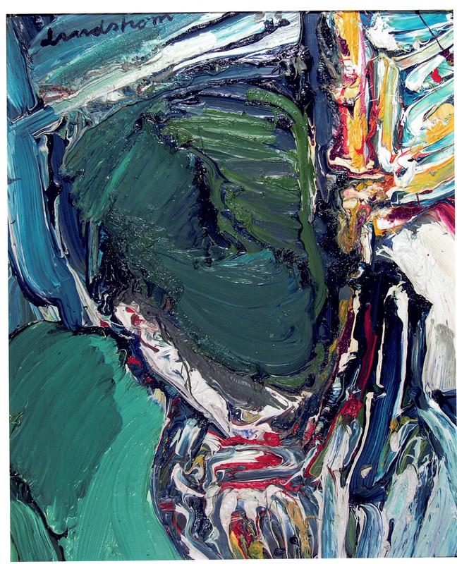 Bengt LINDSTRÖM - Painting - Le preoccupè