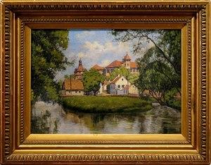 Antoni GRAMATYKA - Peinture - Landscape