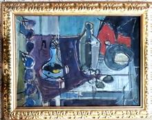 Zvi HECKER - Pintura - Still life, circa 1960