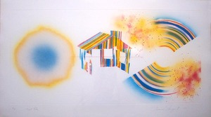 "James ROSENQUIST, ""Hot Lake"" (Glenn 148)"