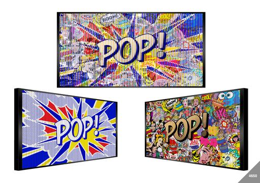 Patrick RUBINSTEIN - Painting - Pop Everywhere!
