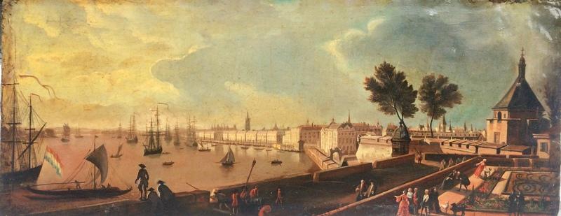 Joseph VERNET - Painting - Hafen von Bordeaux