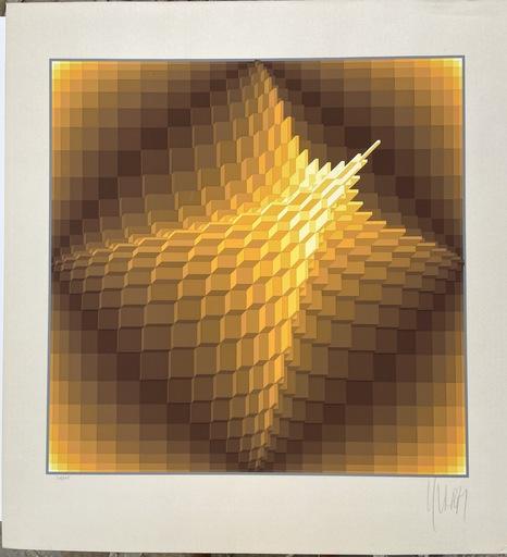 YVARAL - Druckgrafik-Multiple - Pyramid