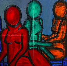Francesco RUSPOLI - Pintura - The beginning    (Cat N° 5961)