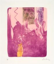 Helen FRANKENTHALER - Grabado - Reflections X