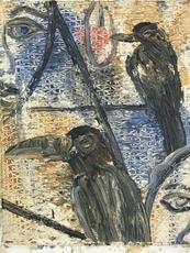 Hunt SLONEM - Painting - Ian
