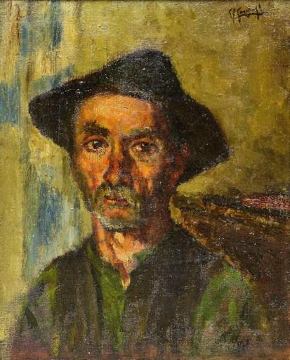 Giovan Francesco GONZAGA - Painting - Testa di vecchio