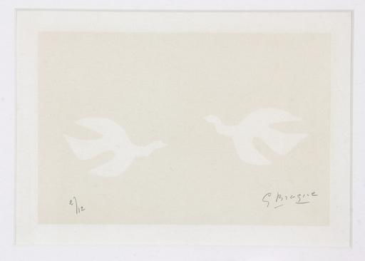 Georges BRAQUE - Estampe-Multiple - Les Oiseaux