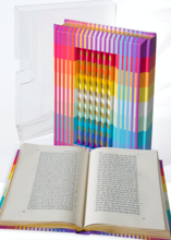 Yaacov AGAM - Sculpture-Volume - Rainbow Torah
