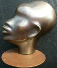 Franz HAGENAUER - Sculpture-Volume - Visage de femme africaine