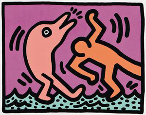 Keith HARING, Pop Shop V (4)