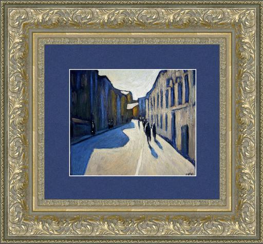 Valeriy NESTEROV - Peinture - Lukov lane. Moscow