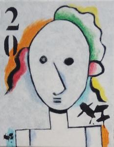 Harry BARTLETT FENNEY - Painting - mimi 2