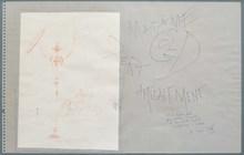 萨尔瓦多·达利 - 水彩作品 - Sans titre, 1964