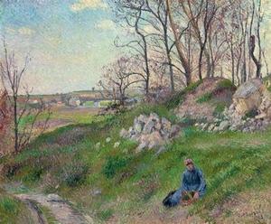 Camille PISSARRO, es carrières du chou, Pontoise, 1882