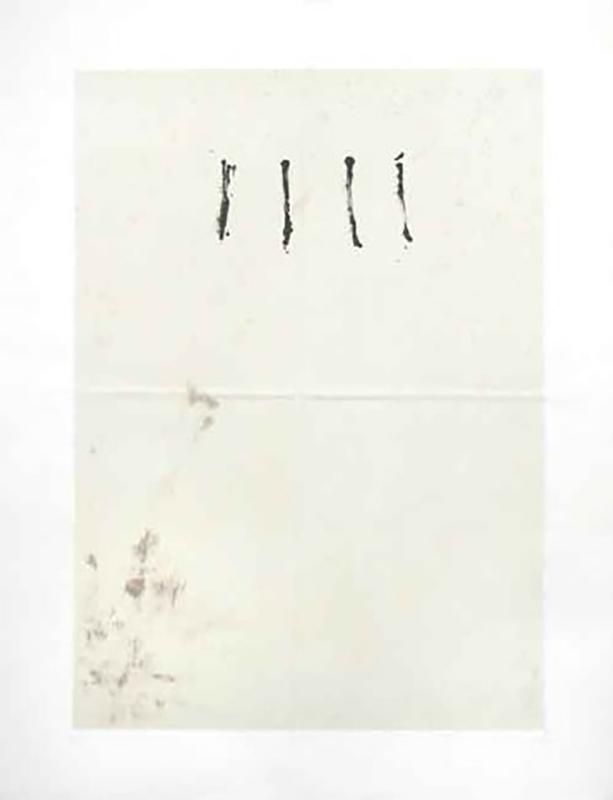 Antoni TAPIES - Print-Multiple - 41. Obra gráfica