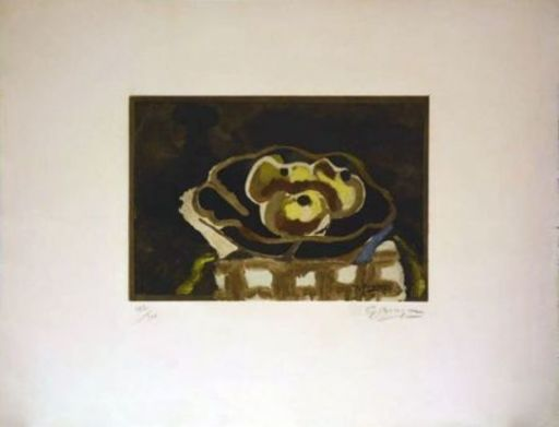 Georges BRAQUE - Grabado - Nature morte