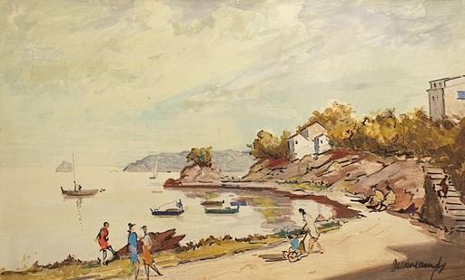 Rafael DURANCAMPS - Gemälde - Marina Cadaqués