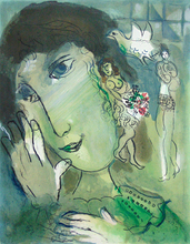 Marc CHAGALL (1887-1985) - The Poet