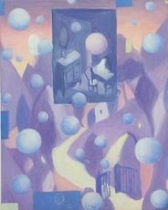 Pino DEODATO - Peinture - paesaggio
