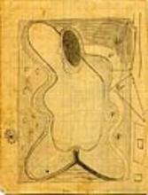 Heinrich Maria DAVRINGHAUSEN - Dessin-Aquarelle -  Visage surréaliste