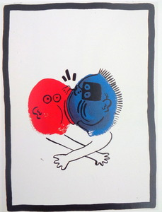 Keith HARING, The Story of Red and Blue (19)