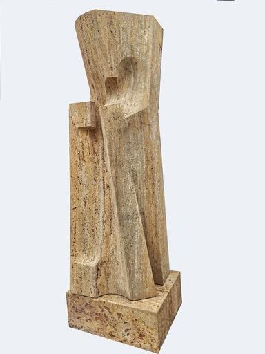 Giò POMODORO - Sculpture-Volume - Marat III