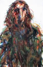 Max UHLIG - Drawing-Watercolor - Nach Franziska U.