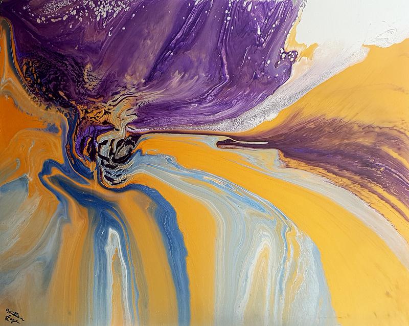 William LAGA - Peinture - 61