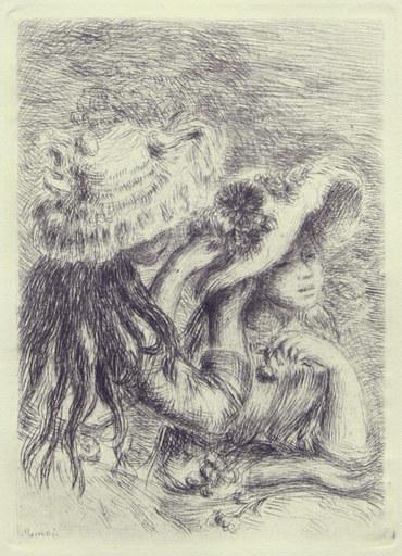 Pierre-Auguste RENOIR - Print-Multiple - LE CHAPEAU EPINGLE (PINNED HAT)
