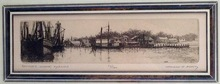 Leonard MERSKY (1917-1994) - Baxter's Wharf, Hyannis