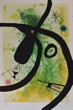 Joan MIRO - Print-Multiple - The Octopus Hunter | Le Chasseur de Pieuvres